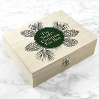 Personalised Classic Christmas Eve Treat Box - ideal for gift giving on Xmas Eve - partyworx.co.uk